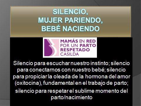 silencio mujer pariendo