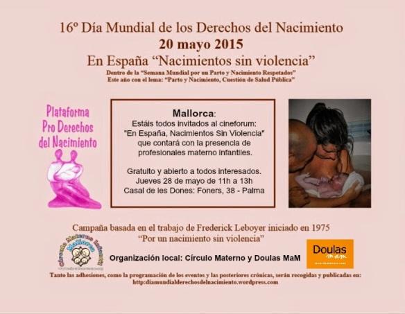 Mallorca Semana Mundial por un Parto y Nacimiento Respetados Semana Mundial por un Parto y Nacimiento Respetados
